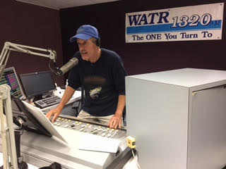 Tom hosting Hill's Gallery on WATR 1320am